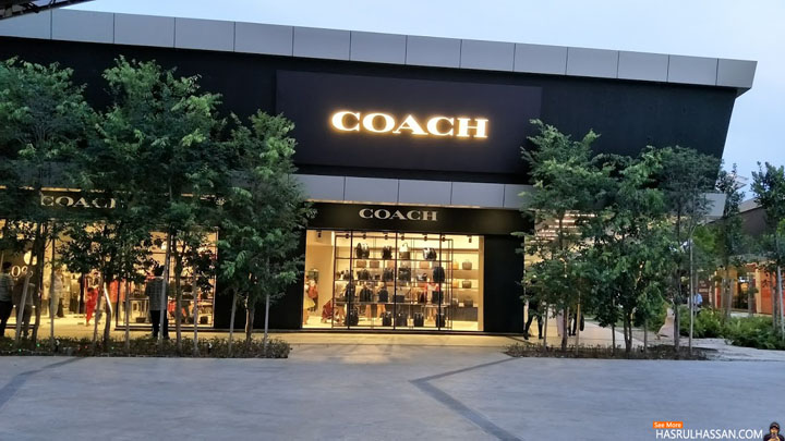 Jenama Coach Outlets di Penang Design Village