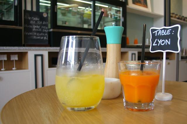 Chez Mademoiselle, Prahran, juice
