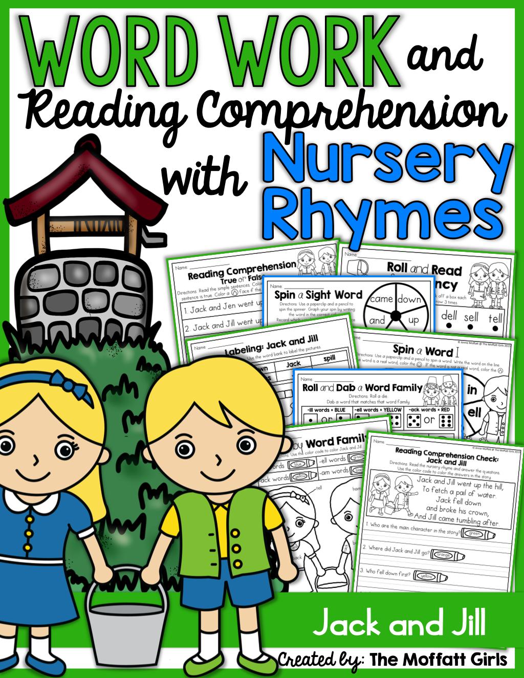 Teaching Word Work And Reading Comprehension Through Nursery Rhymes