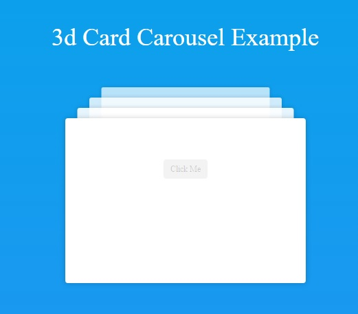 3D Card Carousel Rotator With jQuery CSS3 | Screen Nation