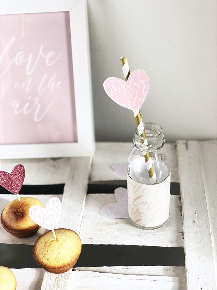 decorazioni di San Valentino da stampare