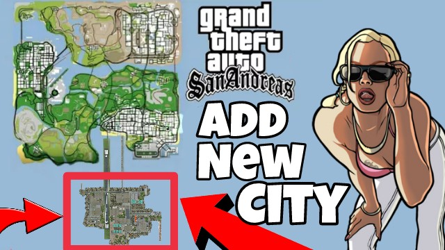 how to add a new city in gta sa game android