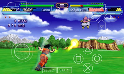 dragon ball shin budokai ppsspp cheat