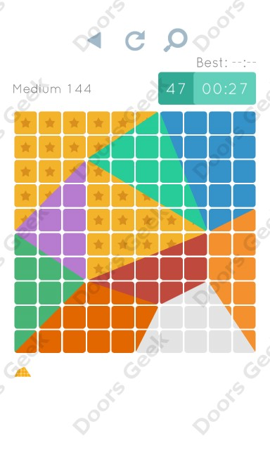 Cheats, Walkthrough for Blocks and Shapes Medium Level 144