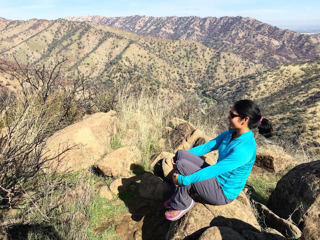 Hiking with C2 Elite Performance Half Zip