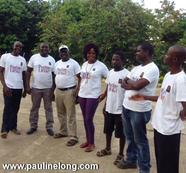 Pauline Long Show delivers food to families in Malawi
