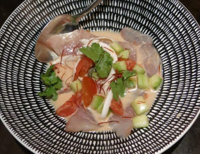 The Black Toro - coconut kingfish ceviche