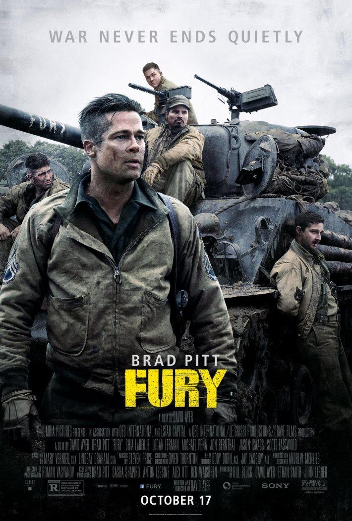 Poster 4: Fury Movie