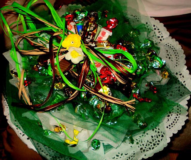 tort z cukierkow