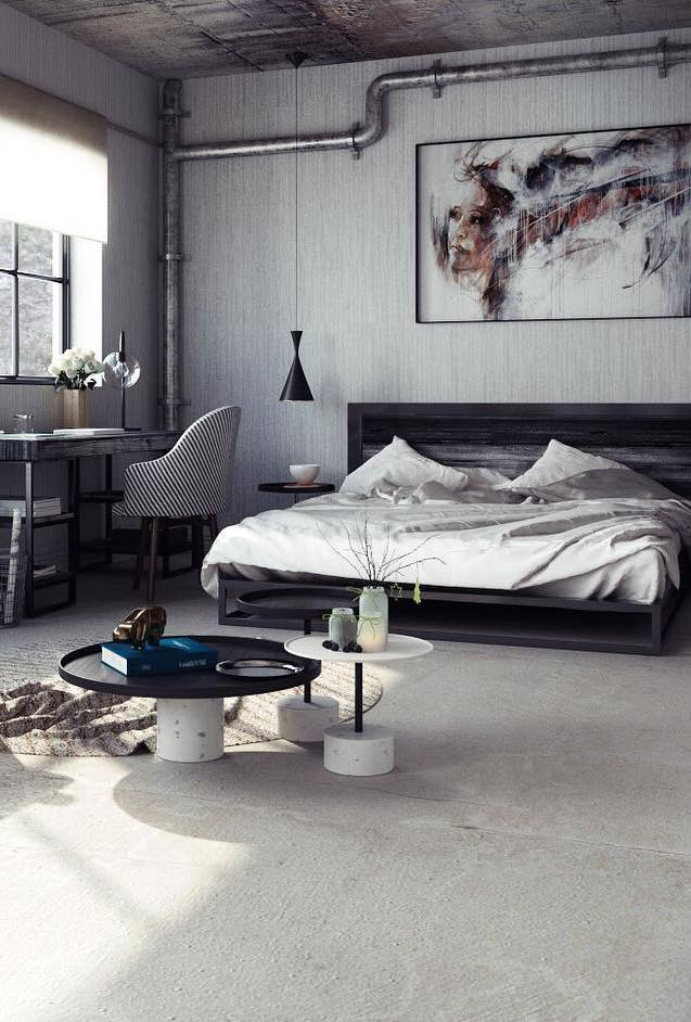 bedroom loft decor idea