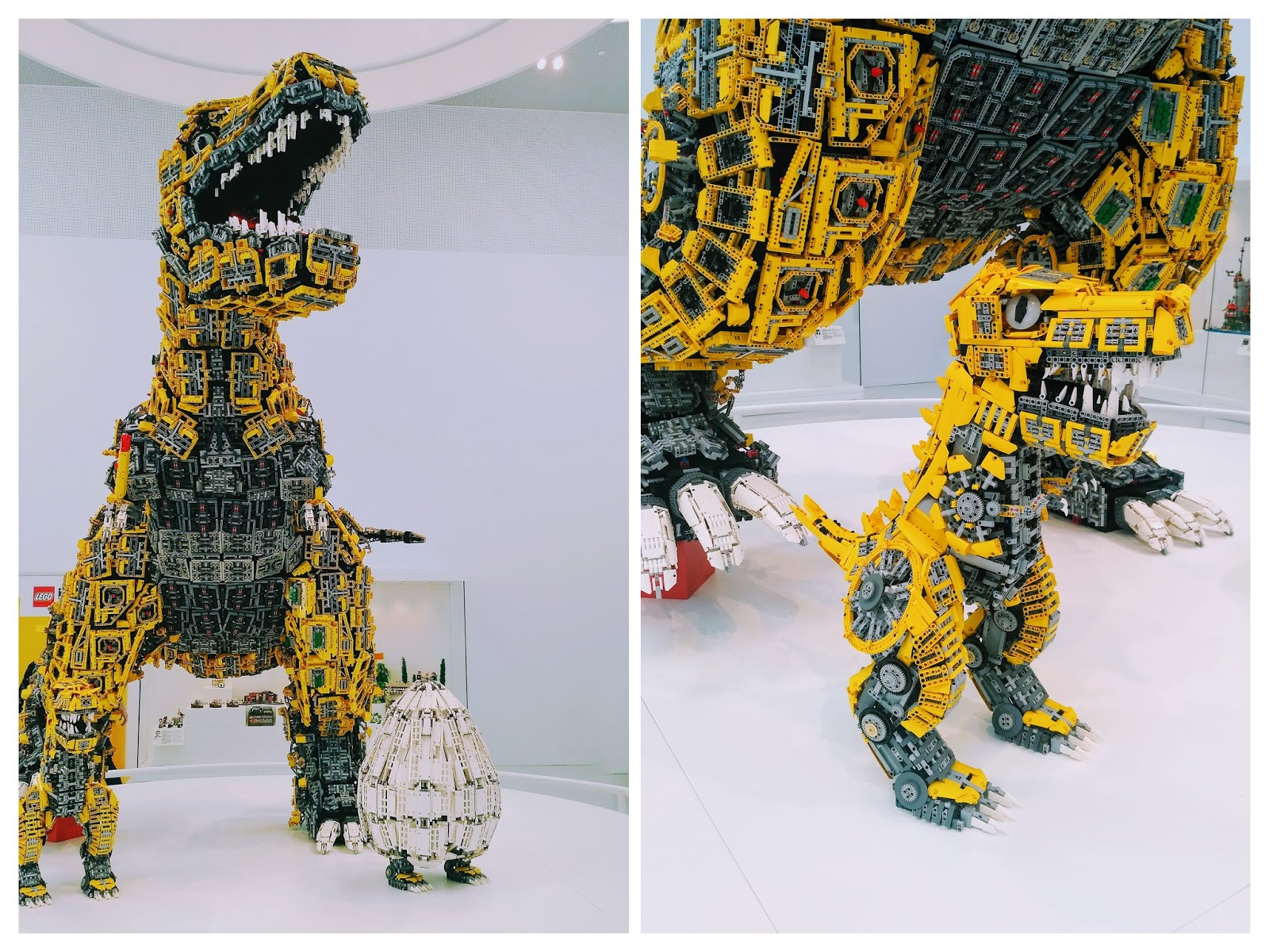 lego house billund dinosaur