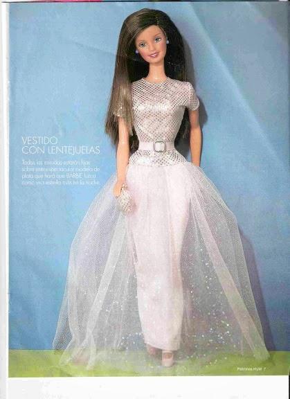 Patrones Para Hacer Vestidos De Barbie Revistas De