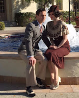 Matt Bomer and Jessica de Gouw in The Last Tycoon Series (32)