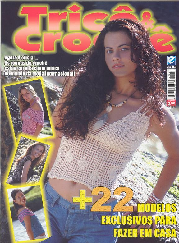 Tricô e Crochê-Revista