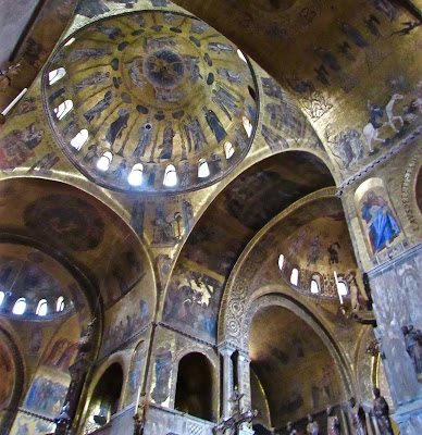 Mosaics in St. Mark's Basilica
