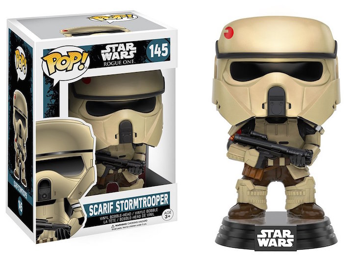 Scarif Stormtrooper Rogue One Star Wars Pop! Vinyl #145