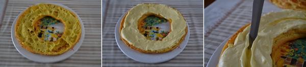Torta Bignè con Cuore Fondente