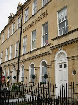 Redcar Hotel, facade, Bath, England