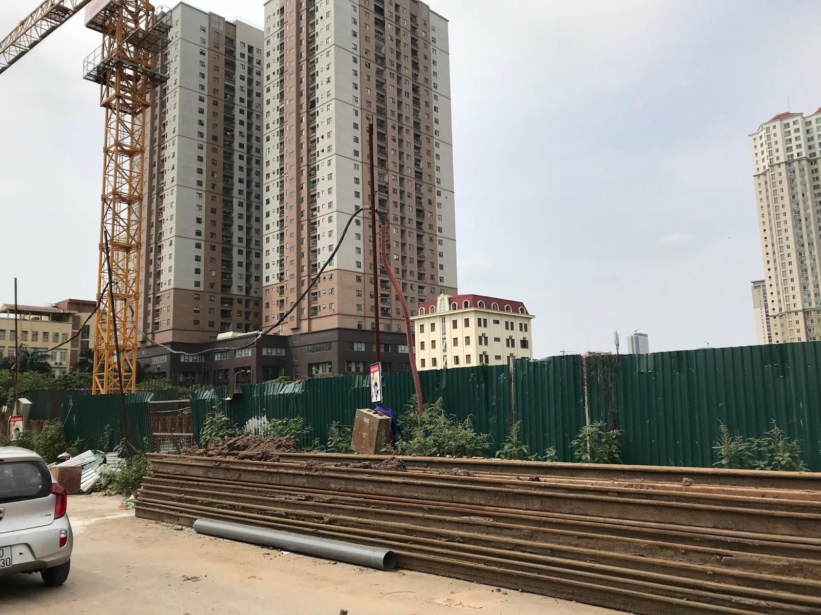 Tiến độ thi công chung cư Phú Thịnh Green Park