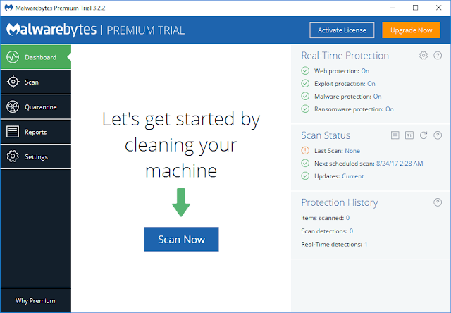 Malwarebytes Anti-Malware Premium 3.2.2 Serial Key Crack