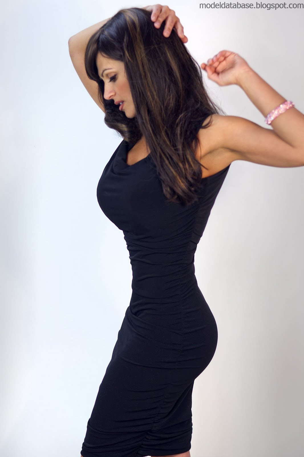 denise milani in a dress - photo #11