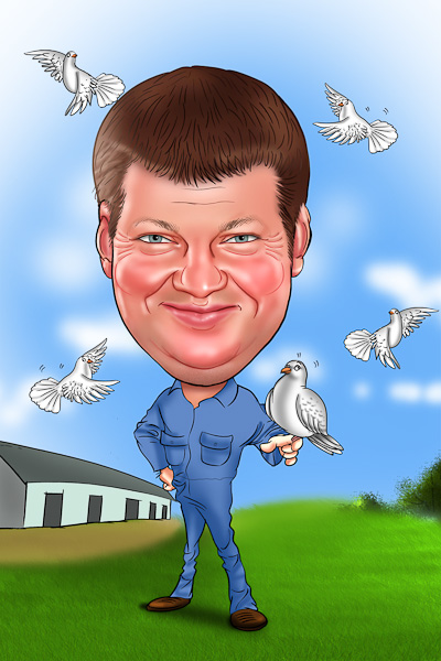 Caricature From Photo Online Make A Cartoon Of Yourself Photo To Caricature Online With Our Caricaturists