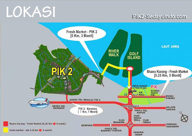 Lokasi PIK 2 Jakarta