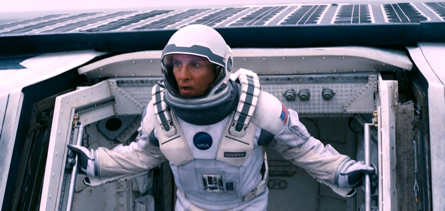 Matthew McConaughey în Interstellar