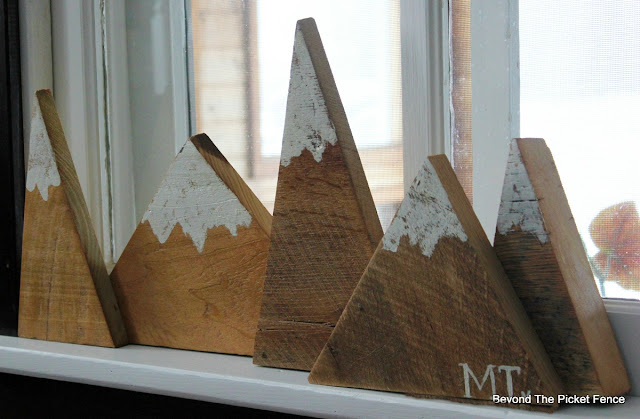 reclaimed wood, mountains, miter saw, cabin decor, rustic, Montana, https://goo.gl/31oHkq