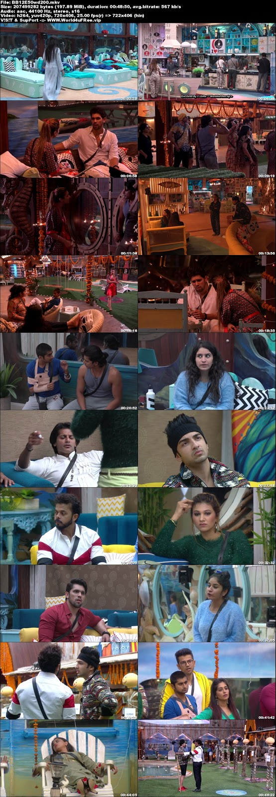 Bigg Boss 12 Episode 50 05 November 2018 WEBRip 480p 200Mb x264 world4ufree.fun tv show Episode 50 05 November 2018 world4ufree.fun 200mb 250mb 300mb compressed small size free download or watch online at world4ufree.fun