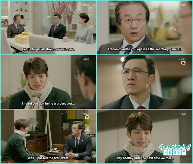 joon young lost his memory again & meet prosecutor choi as when he is a university student - Uncontrollably Fond - Episode 19 Review
