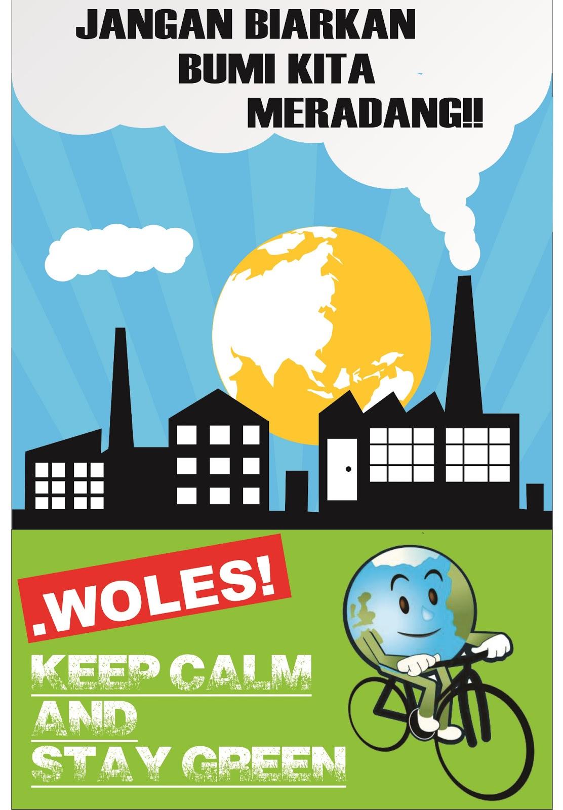 Contoh Poster Kebersihan Lingkungan Sekolah Blog Stress