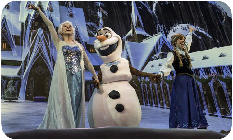 Frozen Fun for Kids at Disney's Hollywood Studios Park
