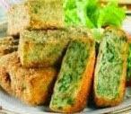 Foto Nugget Sayuran Bayam