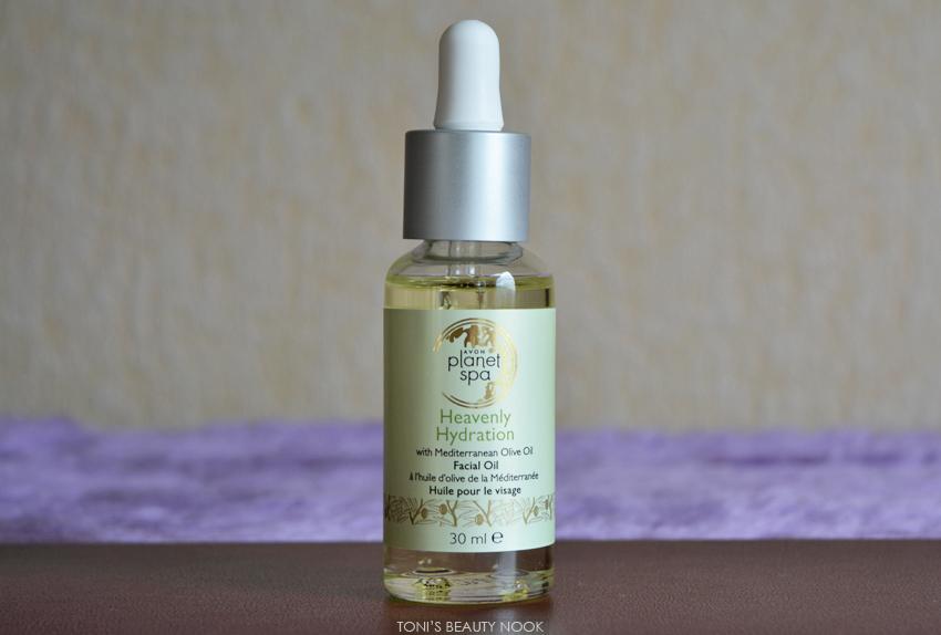 avon planet spa olive facial oil