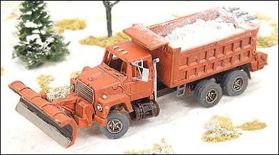 Snowplow Dump Truck