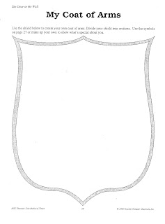 blank coat of arms banner - photo #14
