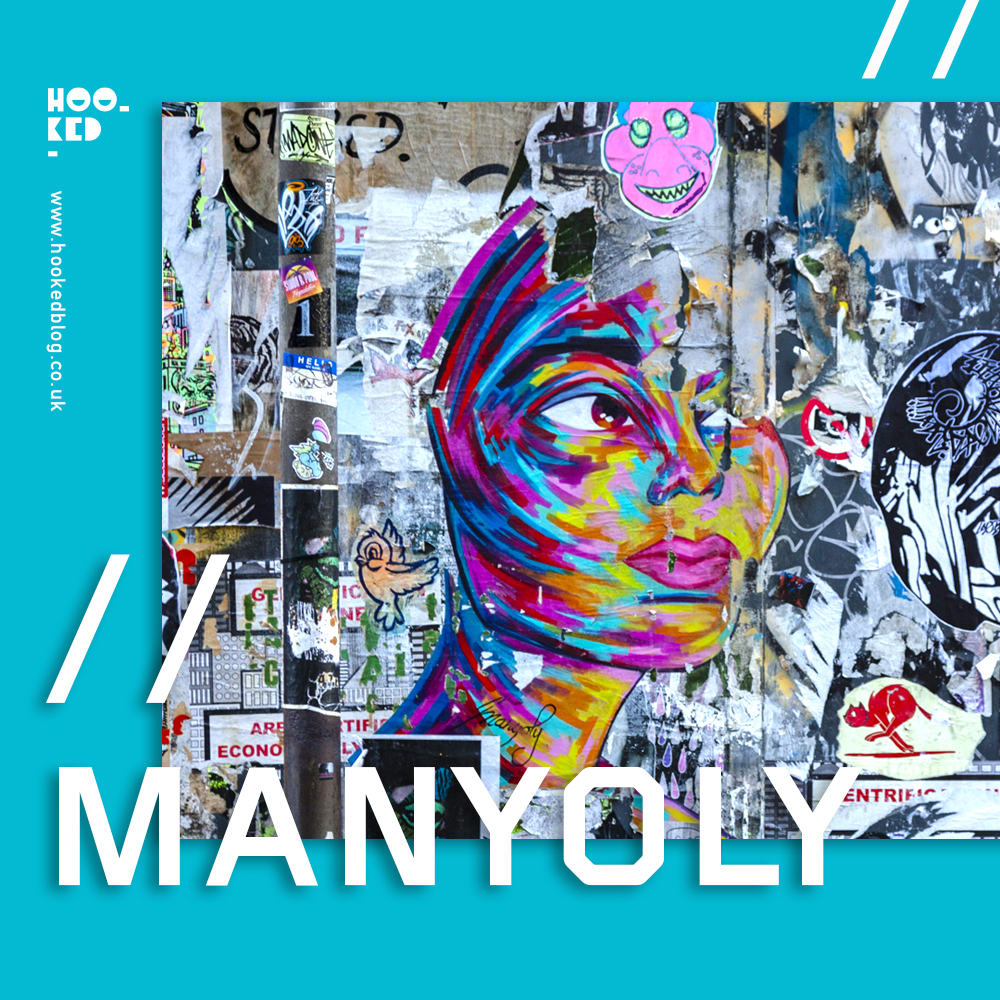 French Street Artist Manyoly revisits London