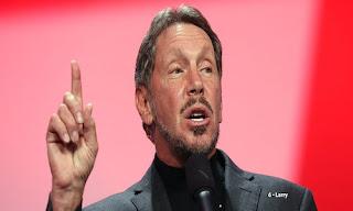 Larry Ellison – US$ 48.6 bilhões (EUA) – Oracle