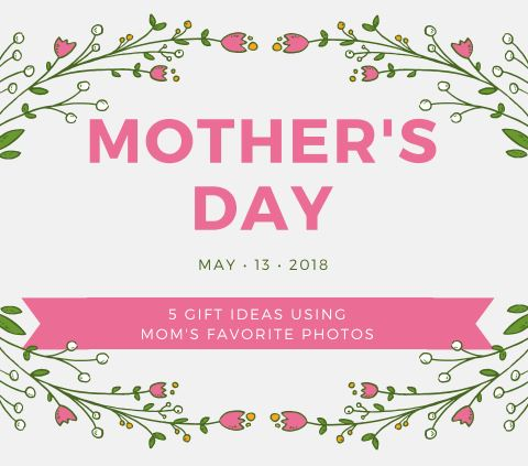 mother's day gift ideas using mom's favorite photos