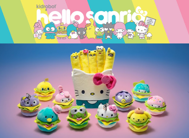 a8c41cfc1 HELLO SANRIO! New Plush Collectibles from Kidrobot x Sanrio