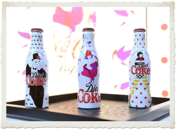 bottiglie 30 anni Coca Cola Light by Marc Jacobs