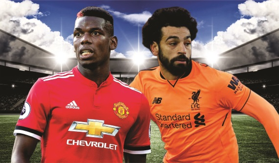 Manchester United and Liverpool lock horns at Old Trafford on Saturday