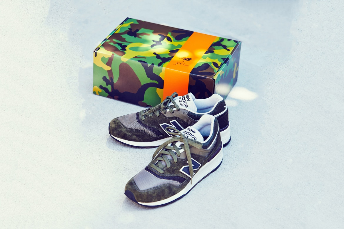the best attitude 6b5b0 25bcd J.Crew and New Balance have joined forces again to present a special drop.  Its 997 model has been chosen by the duo as the canvas of collaborative ...