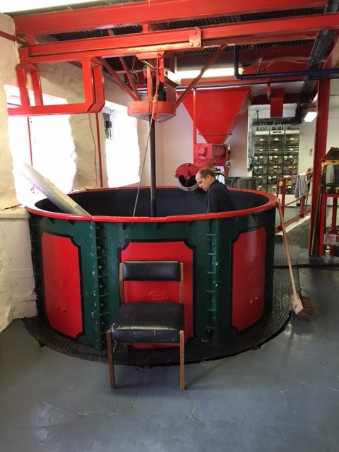 Edradour distillery distilling process - mash