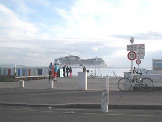 Départ du Meraviglia du port du Havre le dimanche 4 juin 2017 à 20h 15