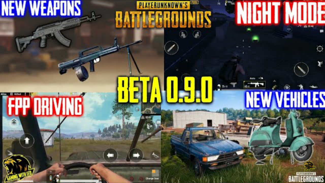 pubg mobile new update