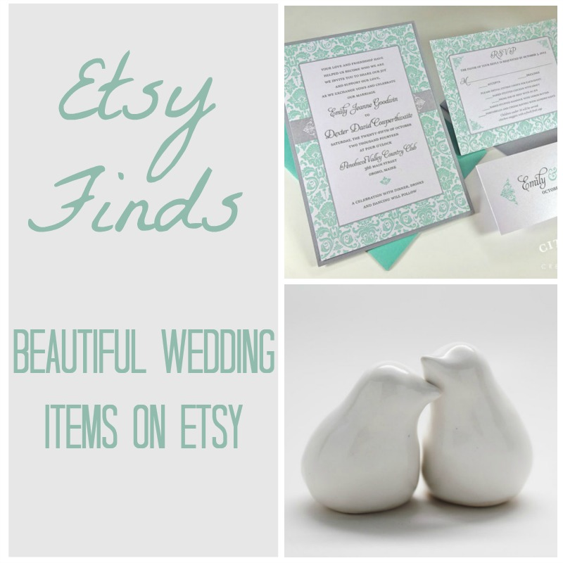 Wedding Etsy Finds