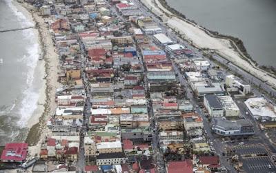 Immagini 3D uragano Irma