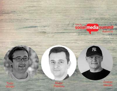 Speakerii Social Media Summit Bucuresti